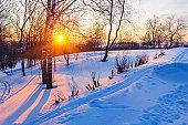 Зимний отпуск в России